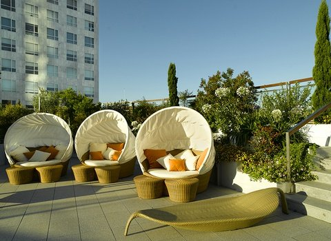 Enjoy a comfortable moment of relax on our terrace.